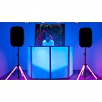 ADJ Colour Stand LED, Speaker Stand