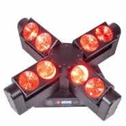 AFX 4 Head Beam LED Moving Head with endless rotation FX