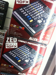 Allen and Heath ZED60 10FX Mixer