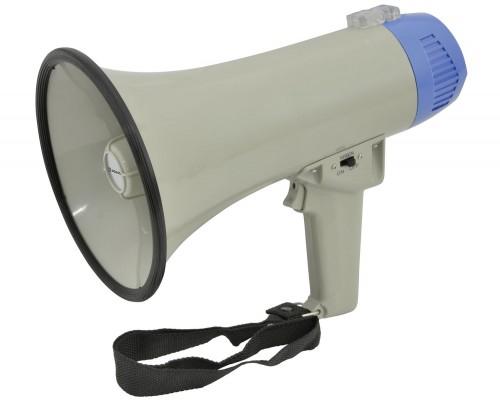 Adastra Megaphone 10W with siren