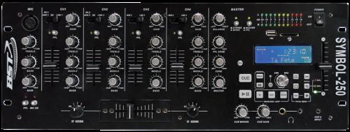 BST Professional DJ Mixer Symbol250