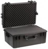 Black Water Resistant Case, Foam Insert 610 x 430 x 310mm