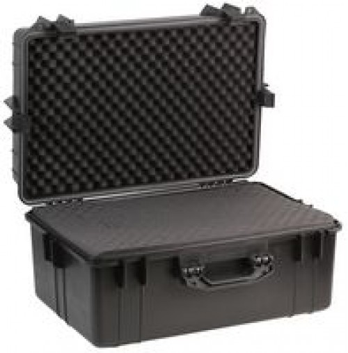 Black Water Resistant Case, Foam Insert 610 x 430 x 310mm