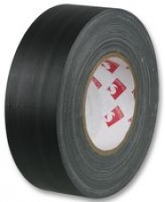 Gaffer Tape Black Cloth 48MM Wide x 50 Metre (4 rolls)