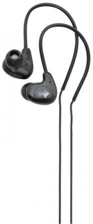 Citronic Dual Drive In-Ear Monitor Headphones BLACK