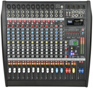 Citronic CLP1200 12 Channel Powered Mixer 2 x 600W