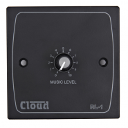 Cloud RL-1B remote volume control wall plate in Black