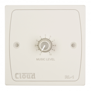 Cloud RL-1W remote volume control wall plate in White