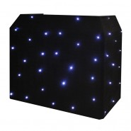 Equinox DJ Booth LED Starcloth,