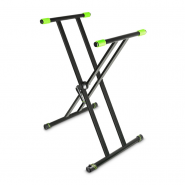 Gravity KSX-2 Keyboard Stand X-Form double black