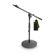 Gravity MS 2222 B Short Microphone Stand with round base and Telescopic