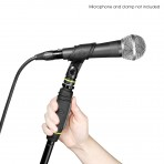Gravity MS 231 HB Microphone Stand with Round Base and one hand clutch