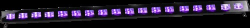 Ibiza UV LED BAR 18 X 3W Ultra Violet Effect