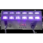 Ibiza UV LED LIGHT EFFECT 24 X 3W Ultra Violet Effect