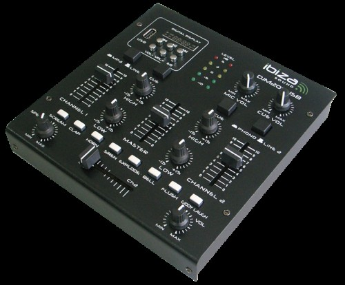 Ibiza DJM 2000 USB effect mixer