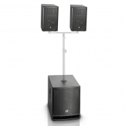 "LD Systems Dave G3 Series 15"" Compact Active PA System"