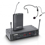 LD Systems ECO 16 BPH Wireless Headset Microphone, 16 Channel