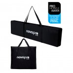 Novopro PS1XL height adjustable podium plinth stand or speaker stand