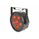 QTX High Power 6 x COB LED Plastic Par Can with IR Remote
