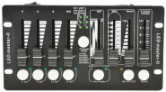 QTX DMX Controller, DM-X4 Mini, See alternative Stagg Commandor 4 Mk2-3 DMX Controller