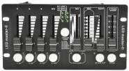 QTX DMX Controller, DM-X4 Mini, See alternative Stagg Commandor 4 Mk2-3 DMX Controller