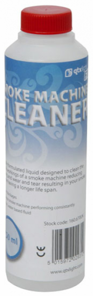 QTX Smoke & Haze Machine Cleaning Fluid 250ml