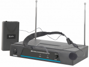 QTX VN1 Neckband Microphone VHF Wireless System 174.5 MHz