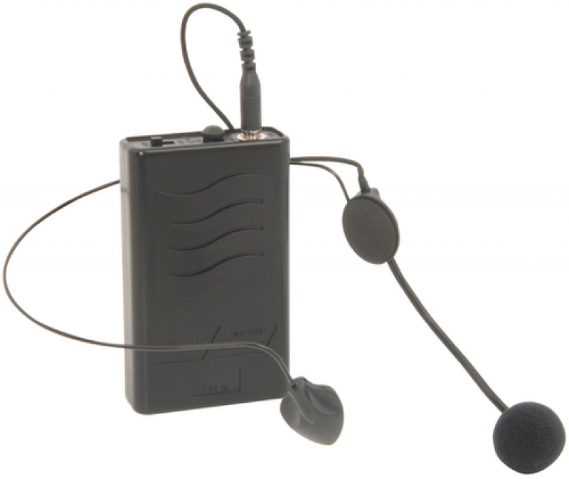QTX VHF Neckband and Beltpack for QR PA Units 174.1MHz