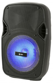 QTX PAL10 Portable PA Unit with Bluetooth, LED Effects