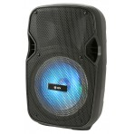 QTX PAL8 Portable PA Unit with Bluetooth, LED Effects