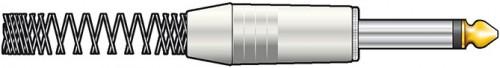 QTX 6.3mm Jack Plugs Chrome