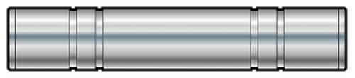 QTX 6.3mm Jack Socket to 6.3mm Jack Socket