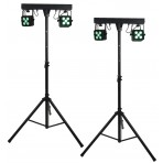 QTX Stereo Twin PAR Bar band stage lighting