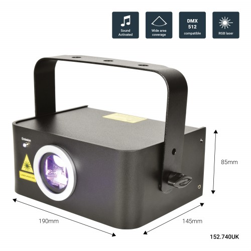 QTX Starscape Multi Colour Effects Laser