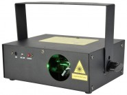 QTX Emerald Club DMX Effect Laser