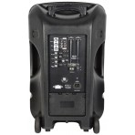 QTX Busker-15 PA  2 x VHF mics + USB/SD/FM Radio, Blue Tooth