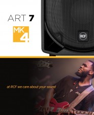 RCF ART 715-A MK4 Speaker BUNDLE Inc RCF COVERS and XLR Leads (PAIR)