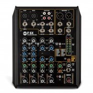 RCF F 6X 6 channel mixer with Multi Effects