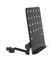 Stagg MUS-ARM 1 Small perforated music stand plate with attachable holder arm