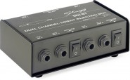 STAGG STI-ST 2-Channel, passive DI box with Mono/Stereo switch