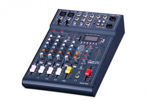 Studiomaster CLUBXS6 6 Input, 4 Channel Mixer
