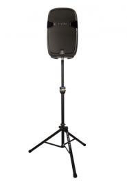 Ultimate TS-90B TeleLock™ Series Lift-assist Aluminum Speaker Stand